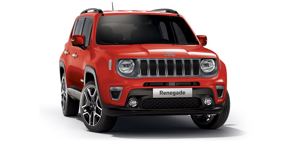 Rasowy Jeep Renegade Sport