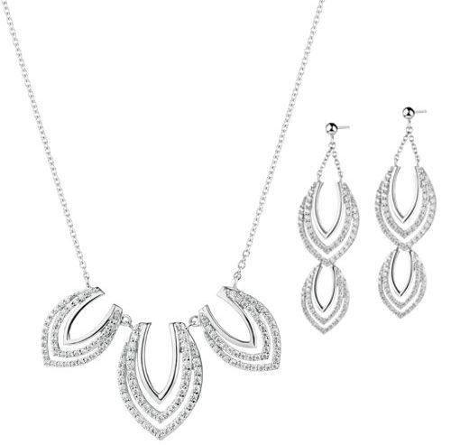 Komplet biżuterii srebrnej APART