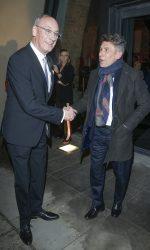 scena z: Dariusz Szpakowski, Robert Korzeniowski, fot. Baranowski/AKPA