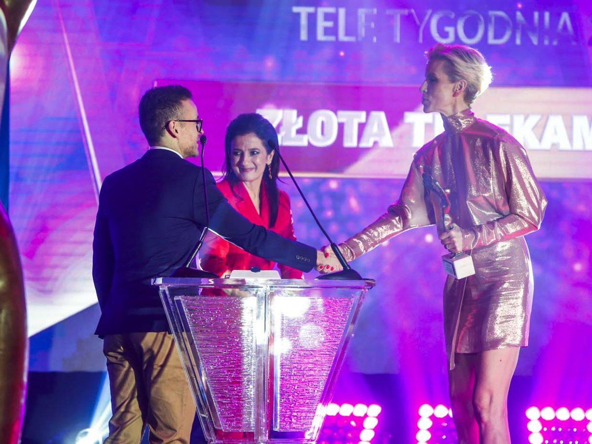 scena z: Michał Rak, Agnieszka Trojanowicz, Anita Werner, fot. Baranowski/AKPA