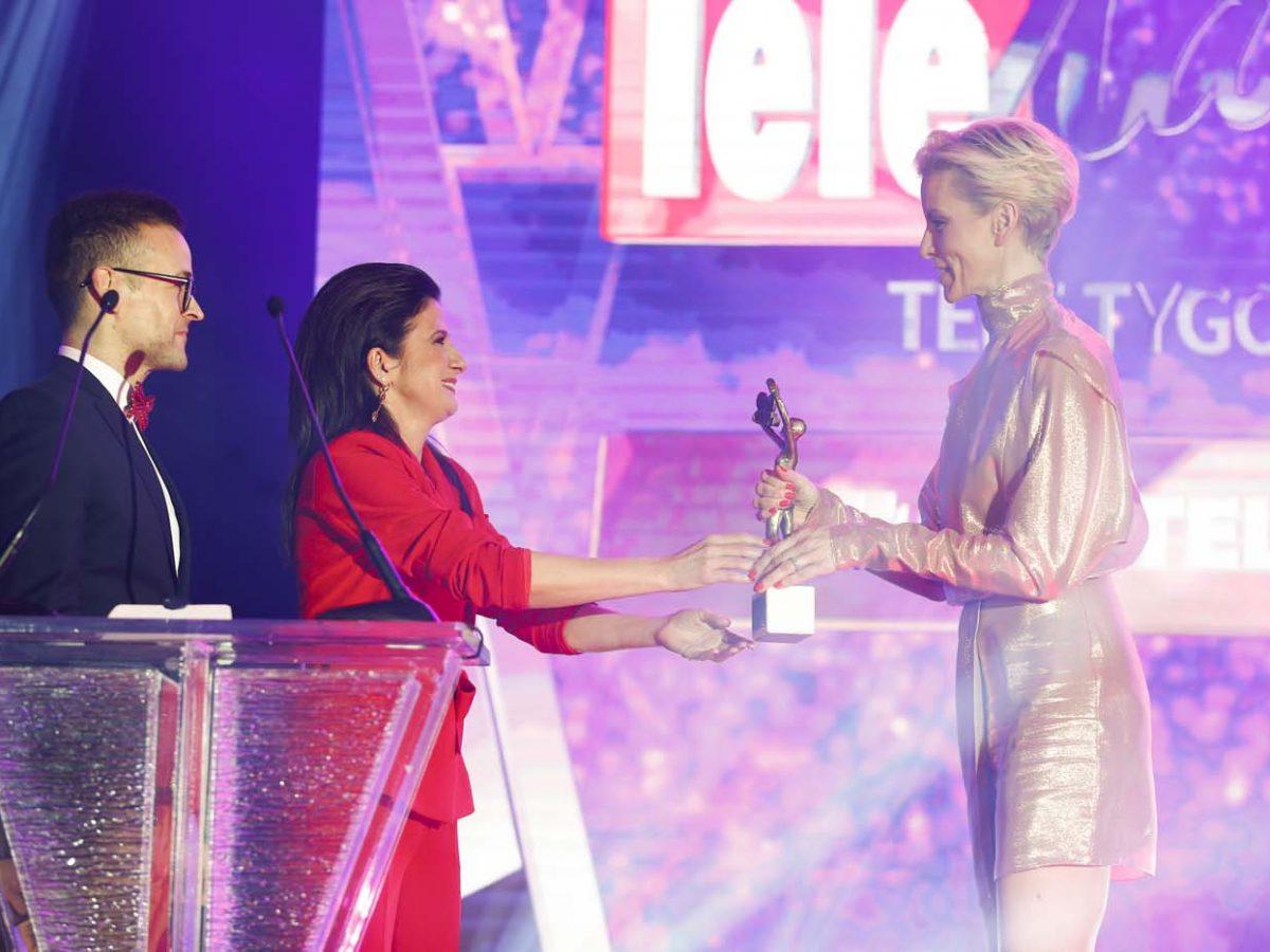 scena z: Michał Rak, Agnieszka Trojanowicz, Anita Werner, fot. Podlewski/AKPA