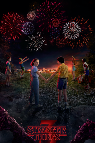"""Stranger Things 3″, Netflix"